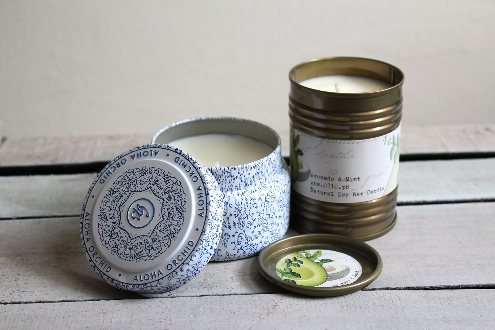 Anthropologie Candles Lily Pebbles