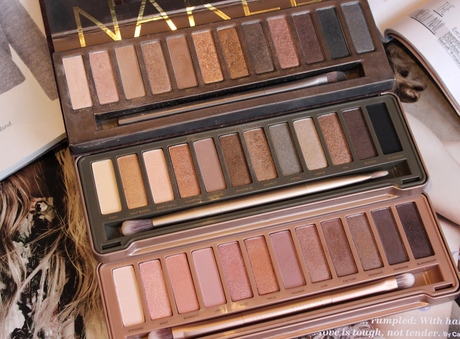 Urban Decay Naked 3 Palette review and swatches | Tales of