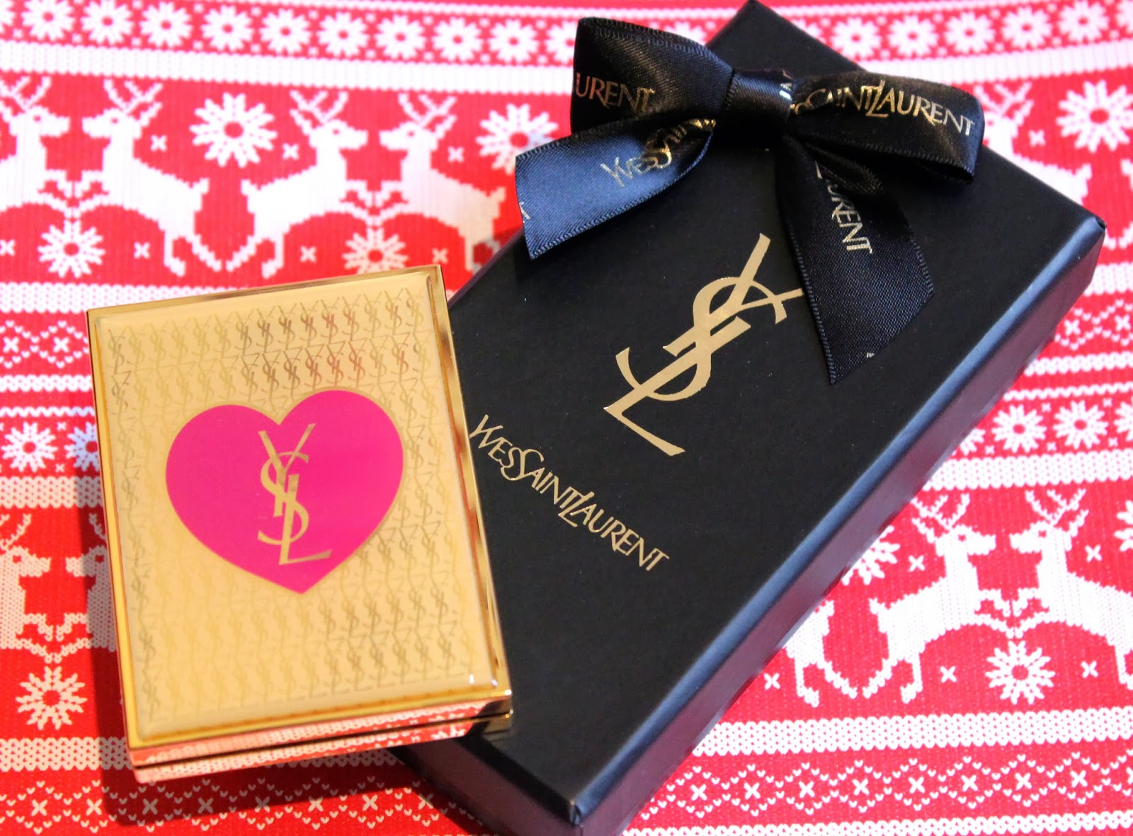 Ysl Christmas 2013 Lily Pebbles