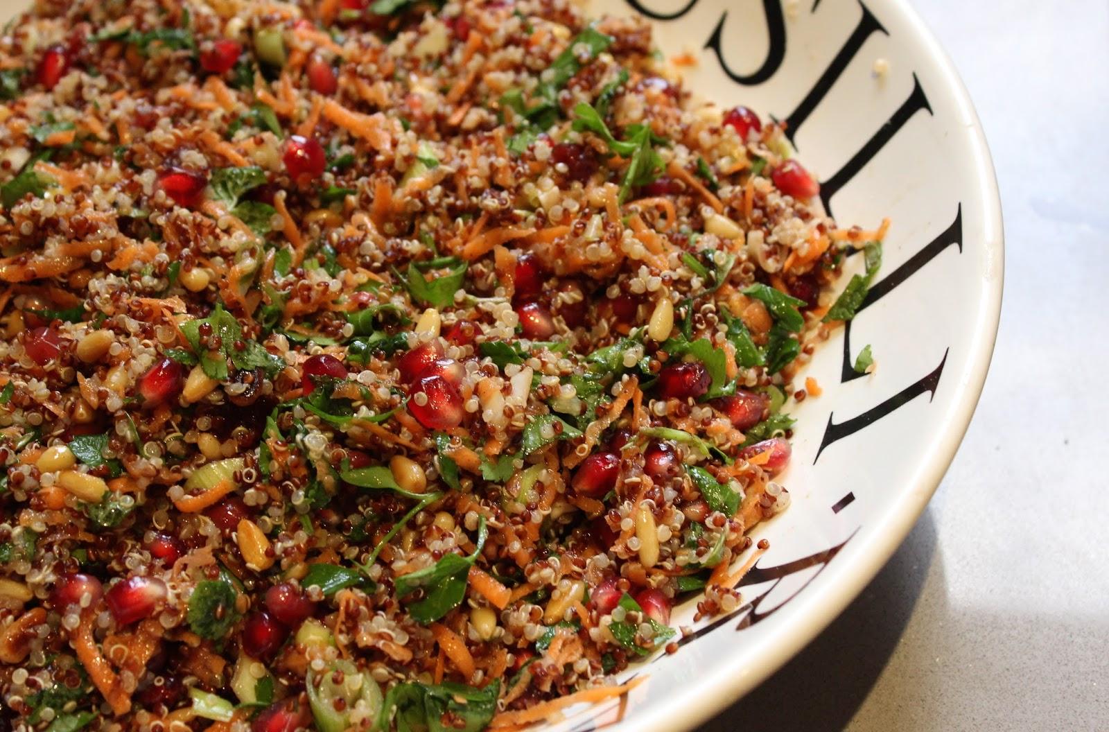 Quinoa Tabouli for Meal Prep https://cleanfoodcrush.com/quinoa-tabouli