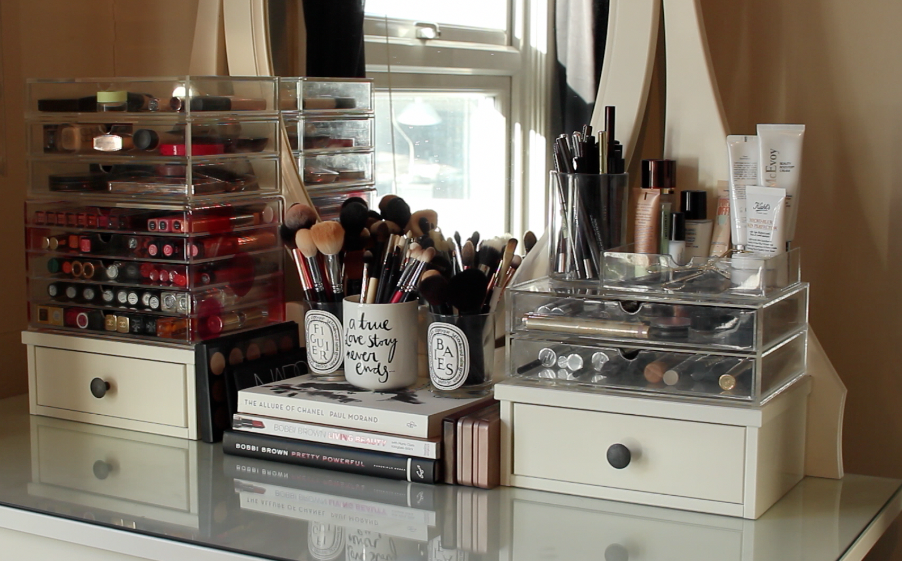 Updated Makeup Collection Amp Storage Lily Pebbles