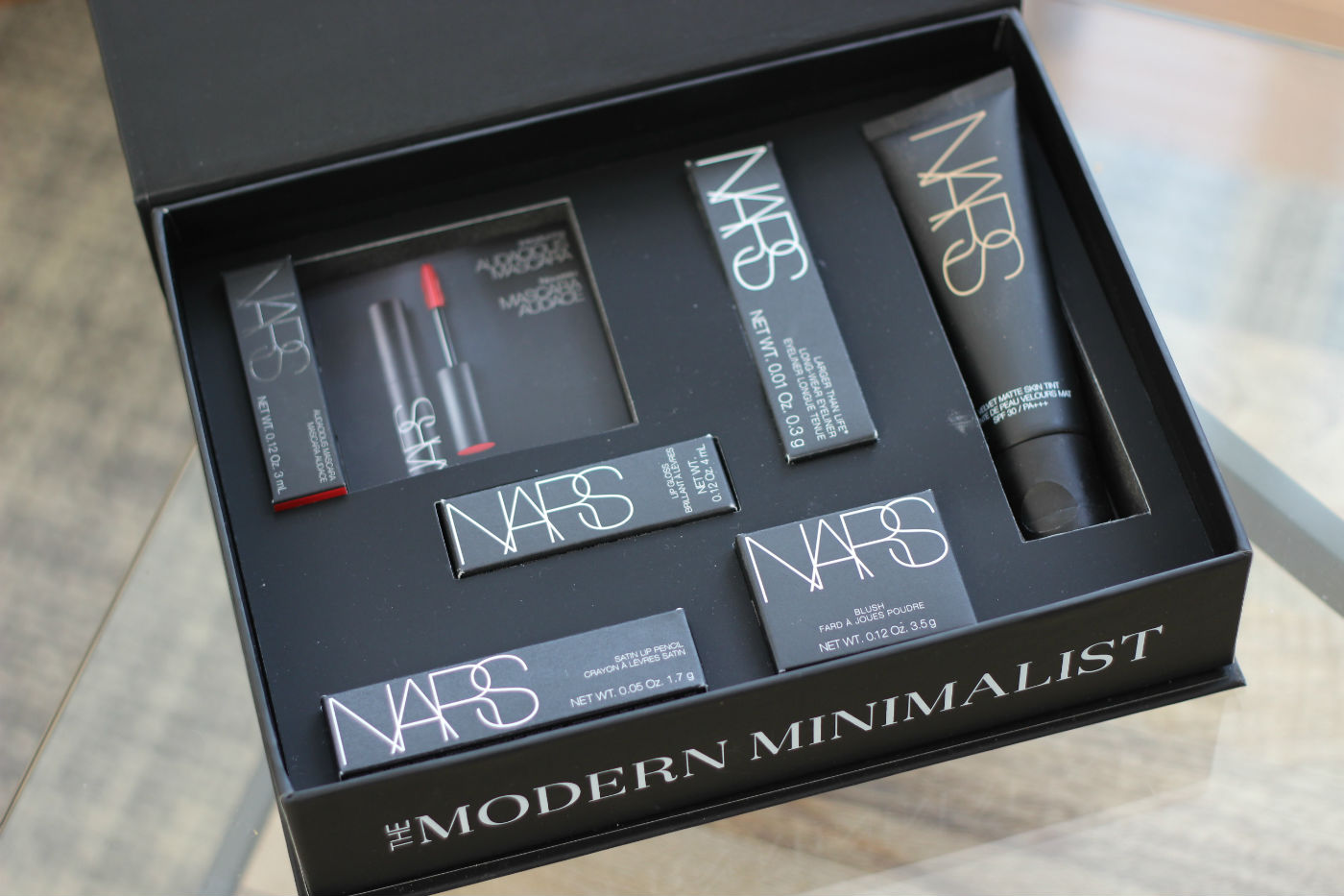 Limited Edition Nars Beauty Box For Space Nk Lily Pebbles