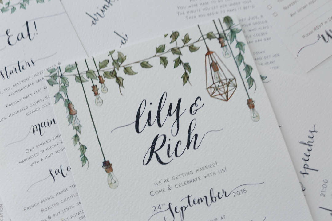 THE WEDDING STATIONERY – Lily Pebbles